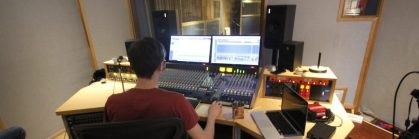 Working at Loft Music Studios